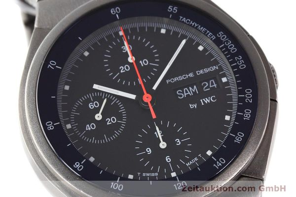 Used luxury watch IWC Porsche Design chronograph titanium automatic Kal. 790 Ref. 3702  | 152592 02