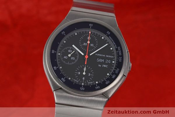 Used luxury watch IWC Porsche Design chronograph titanium automatic Kal. 790 Ref. 3702  | 152592 04