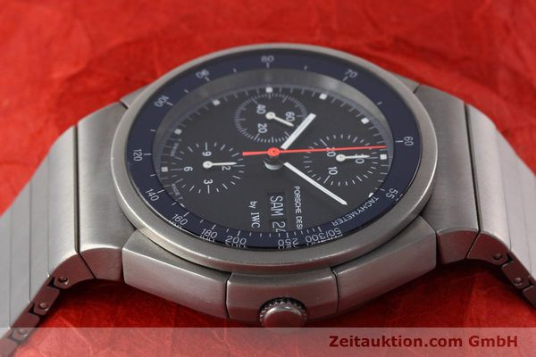 Used luxury watch IWC Porsche Design chronograph titanium automatic Kal. 790 Ref. 3702  | 152592 05