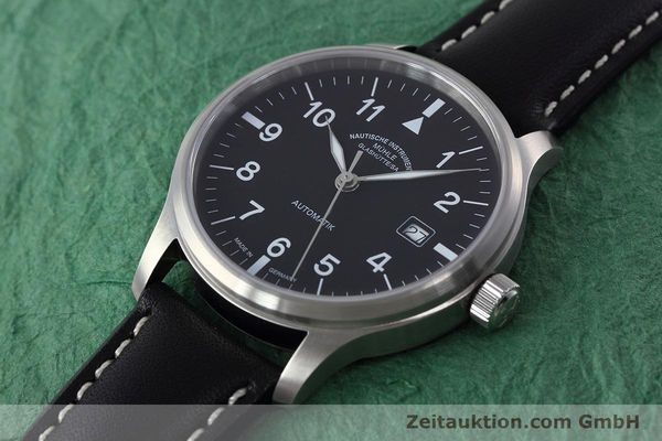 Used luxury watch Mühle Terrasport  steel automatic Kal. SW 200-1 Ref. M1-37-60  | 152596 01