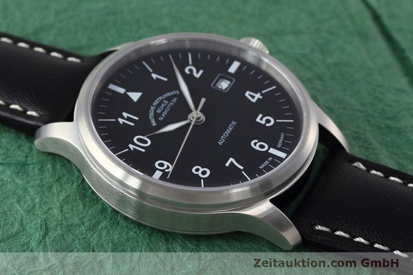 Used luxury watch Mühle Terrasport  steel automatic Kal. SW 200-1 Ref. M1-37-60  | 152596 15