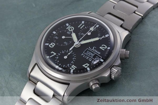 Used luxury watch Sinn 356 chronograph steel automatic Kal. ETA 7750 Ref. 356.0543  | 152606 01