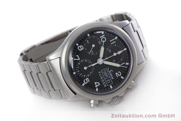 Used luxury watch Sinn 356 chronograph steel automatic Kal. ETA 7750 Ref. 356.0543  | 152606 03