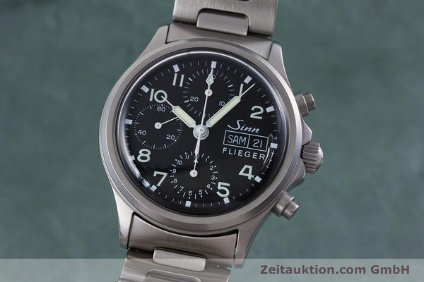 Used luxury watch Sinn 356 chronograph steel automatic Kal. ETA 7750 Ref. 356.0543  | 152606 04