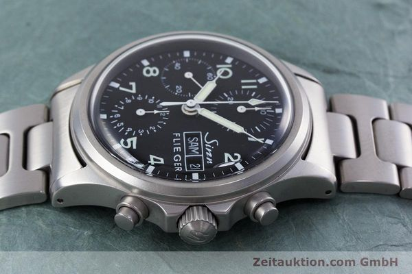 Used luxury watch Sinn 356 chronograph steel automatic Kal. ETA 7750 Ref. 356.0543  | 152606 05