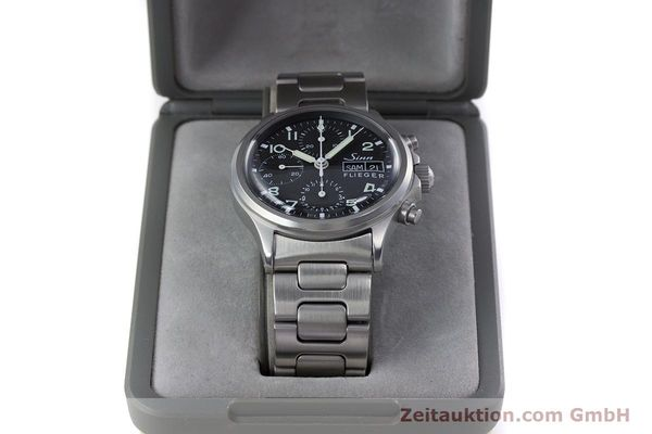 Used luxury watch Sinn 356 chronograph steel automatic Kal. ETA 7750 Ref. 356.0543  | 152606 07