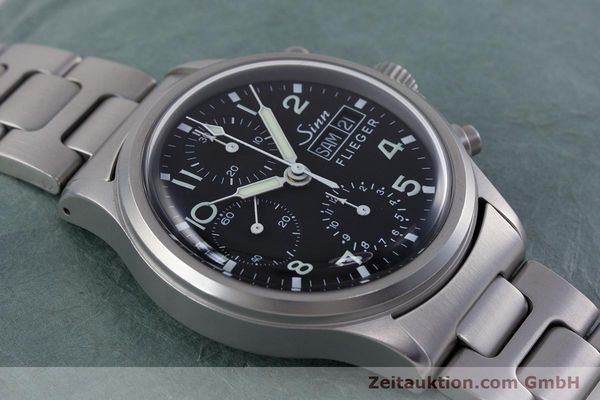Used luxury watch Sinn 356 chronograph steel automatic Kal. ETA 7750 Ref. 356.0543  | 152606 13