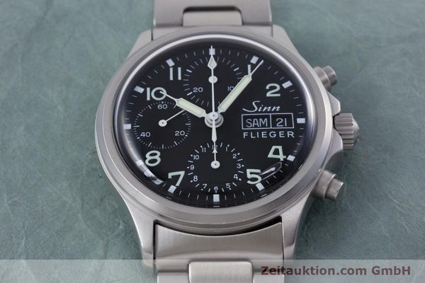 Used luxury watch Sinn 356 chronograph steel automatic Kal. ETA 7750 Ref. 356.0543  | 152606 14
