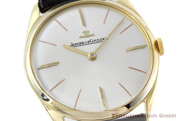 Used luxury watch Jaeger Le Coultre * 18 ct gold manual winding Kal. K818/1C Ref. 1038987 VINTAGE  | 152608 02