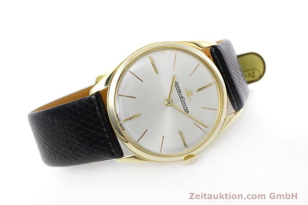 Used luxury watch Jaeger Le Coultre * 18 ct gold manual winding Kal. K818/1C Ref. 1038987 VINTAGE  | 152608 03