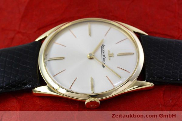 Used luxury watch Jaeger Le Coultre * 18 ct gold manual winding Kal. K818/1C Ref. 1038987 VINTAGE  | 152608 05