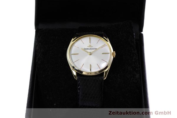 Used luxury watch Jaeger Le Coultre * 18 ct gold manual winding Kal. K818/1C Ref. 1038987 VINTAGE  | 152608 07