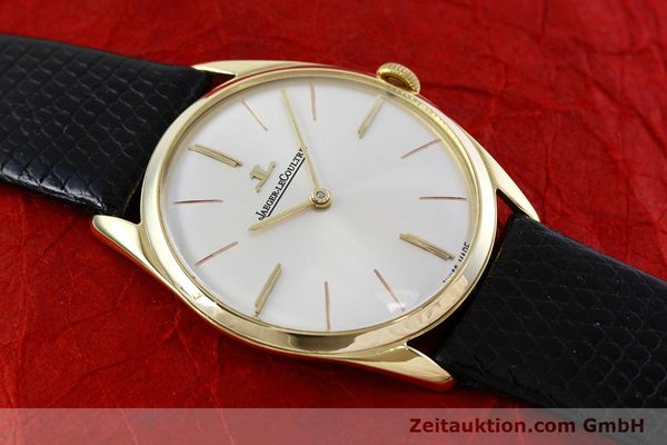 Used luxury watch Jaeger Le Coultre * 18 ct gold manual winding Kal. K818/1C Ref. 1038987 VINTAGE  | 152608 13
