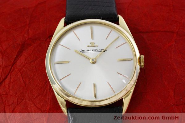 Used luxury watch Jaeger Le Coultre * 18 ct gold manual winding Kal. K818/1C Ref. 1038987 VINTAGE  | 152608 14