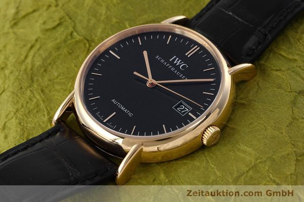 Used luxury watch IWC Portofino 18 ct gold automatic Kal. 30110 Ref. 3533  | 152610 01