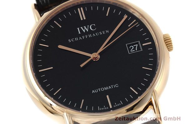 Used luxury watch IWC Portofino 18 ct gold automatic Kal. 30110 Ref. 3533  | 152610 02