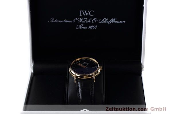 Used luxury watch IWC Portofino 18 ct gold automatic Kal. 30110 Ref. 3533  | 152610 07