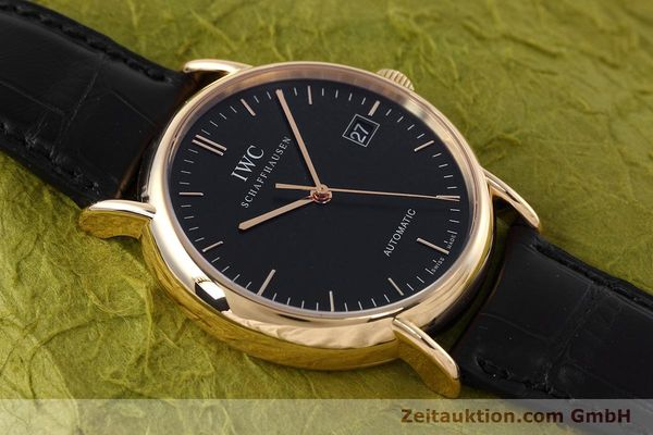 Used luxury watch IWC Portofino 18 ct gold automatic Kal. 30110 Ref. 3533  | 152610 18
