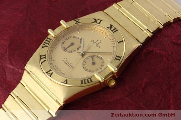 Used luxury watch Omega Constellation 18 ct gold quartz Kal. 1444 Ref. 198.0142  | 152612 01