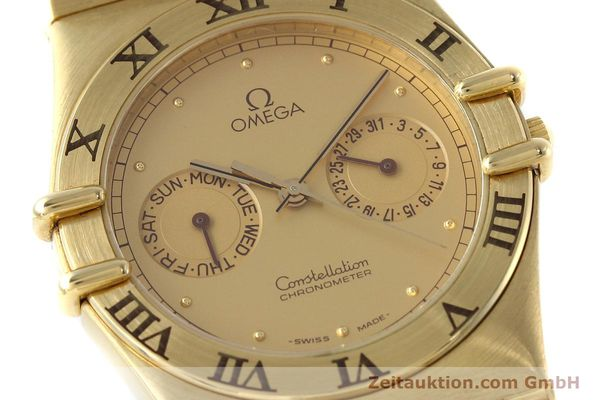 Used luxury watch Omega Constellation 18 ct gold quartz Kal. 1444 Ref. 198.0142  | 152612 02