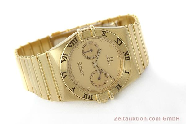 Used luxury watch Omega Constellation 18 ct gold quartz Kal. 1444 Ref. 198.0142  | 152612 03