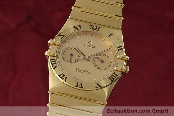 Used luxury watch Omega Constellation 18 ct gold quartz Kal. 1444 Ref. 198.0142  | 152612 04