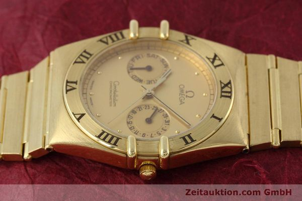Used luxury watch Omega Constellation 18 ct gold quartz Kal. 1444 Ref. 198.0142  | 152612 05