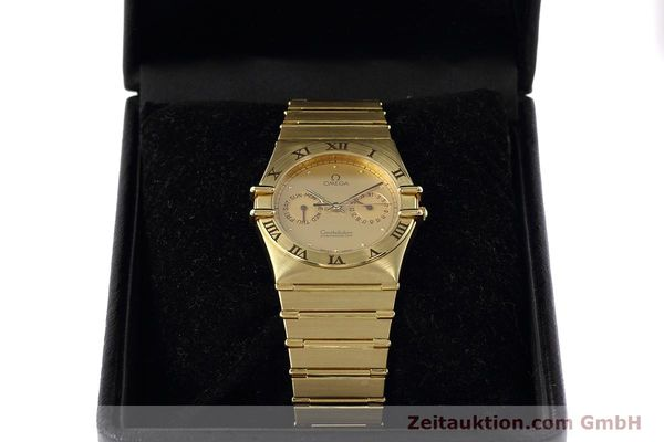 Used luxury watch Omega Constellation 18 ct gold quartz Kal. 1444 Ref. 198.0142  | 152612 07