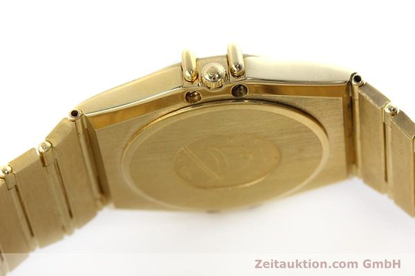Used luxury watch Omega Constellation 18 ct gold quartz Kal. 1444 Ref. 198.0142  | 152612 08