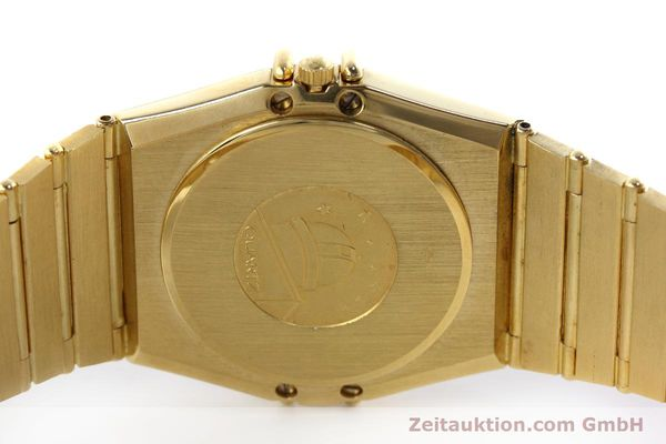 Used luxury watch Omega Constellation 18 ct gold quartz Kal. 1444 Ref. 198.0142  | 152612 09