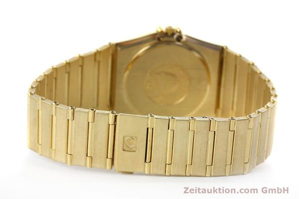 Used luxury watch Omega Constellation 18 ct gold quartz Kal. 1444 Ref. 198.0142  | 152612 11