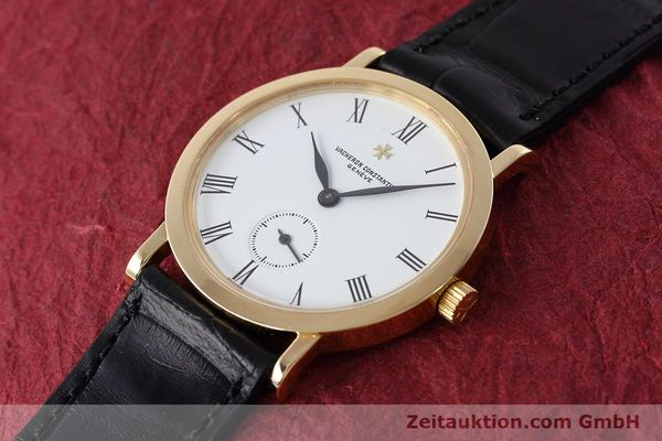 Used luxury watch Vacheron & Constantin * 18 ct gold manual winding Kal. 1014/1 Ref. 92240  | 152613 01