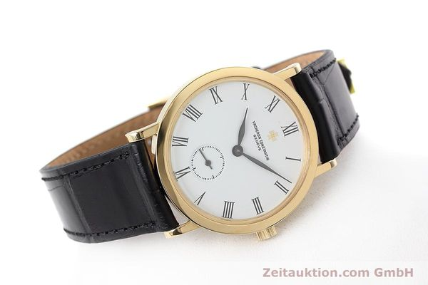 Used luxury watch Vacheron & Constantin * 18 ct gold manual winding Kal. 1014/1 Ref. 92240  | 152613 03