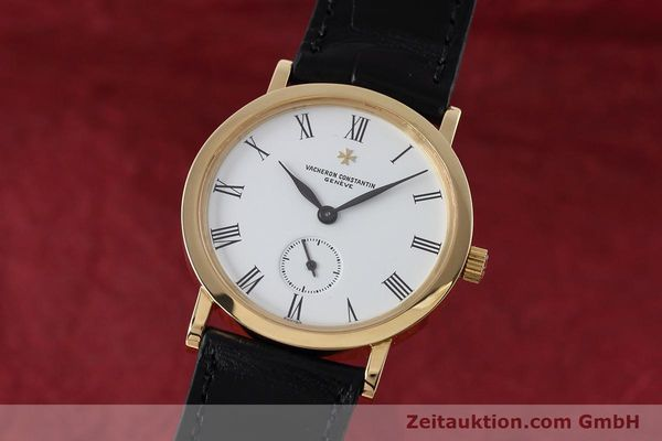 Used luxury watch Vacheron & Constantin * 18 ct gold manual winding Kal. 1014/1 Ref. 92240  | 152613 04