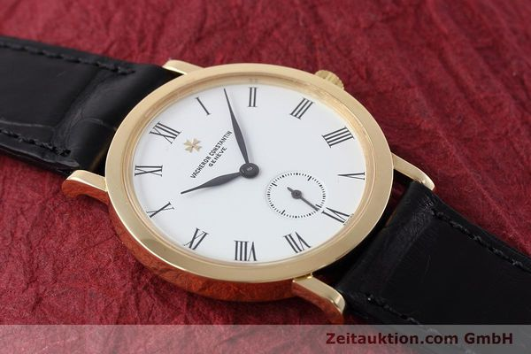 Used luxury watch Vacheron & Constantin * 18 ct gold manual winding Kal. 1014/1 Ref. 92240  | 152613 16