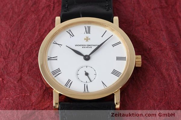 Used luxury watch Vacheron & Constantin * 18 ct gold manual winding Kal. 1014/1 Ref. 92240  | 152613 17