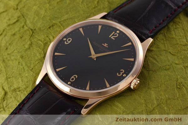 Used luxury watch Jaeger Le Coultre Master Ultra Thin 18 ct gold manual winding Kal. 849 Ref. 172.2.79.S LIMITED EDITION | 152614 01