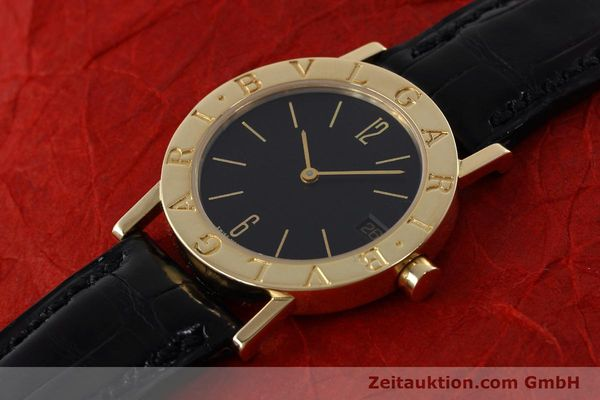 Used luxury watch Bvlgari Bvlgari 18 ct gold quartz Kal. 732 MBBE Ref. BB30GL  | 152618 01