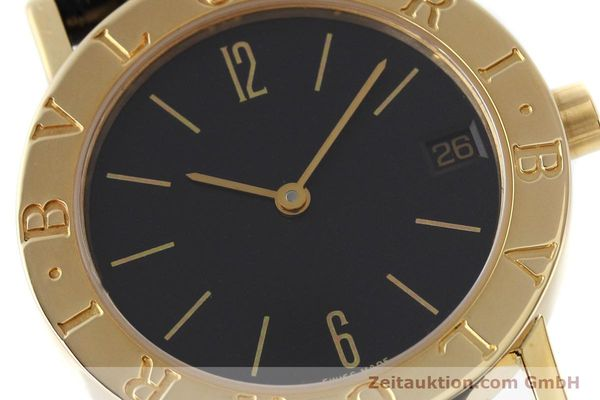 Used luxury watch Bvlgari Bvlgari 18 ct gold quartz Kal. 732 MBBE Ref. BB30GL  | 152618 02