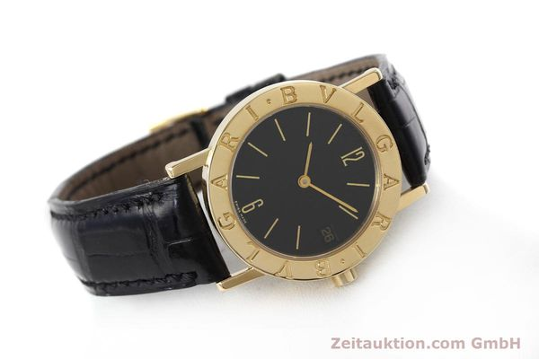 Used luxury watch Bvlgari Bvlgari 18 ct gold quartz Kal. 732 MBBE Ref. BB30GL  | 152618 03