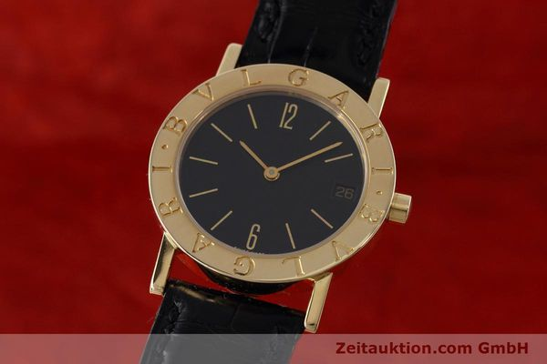 Used luxury watch Bvlgari Bvlgari 18 ct gold quartz Kal. 732 MBBE Ref. BB30GL  | 152618 04