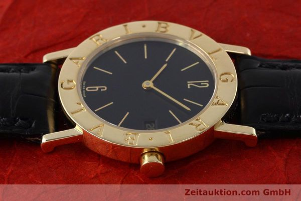 Used luxury watch Bvlgari Bvlgari 18 ct gold quartz Kal. 732 MBBE Ref. BB30GL  | 152618 05