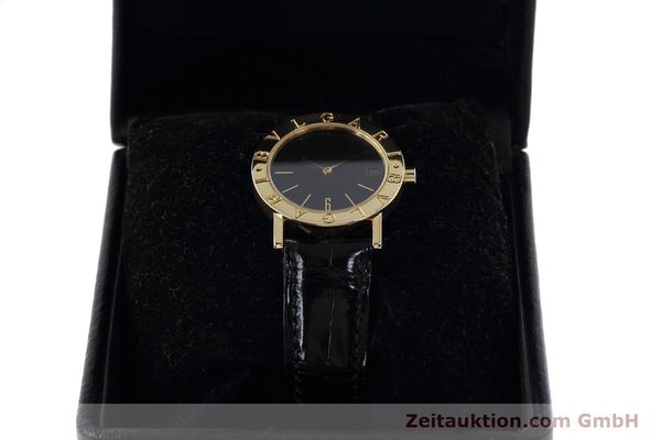 Used luxury watch Bvlgari Bvlgari 18 ct gold quartz Kal. 732 MBBE Ref. BB30GL  | 152618 07