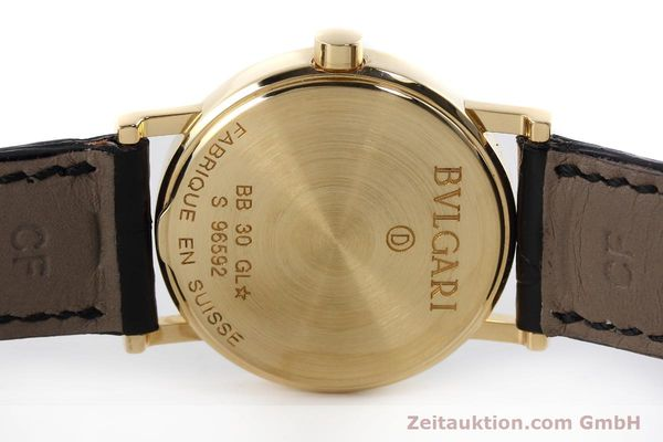Used luxury watch Bvlgari Bvlgari 18 ct gold quartz Kal. 732 MBBE Ref. BB30GL  | 152618 09