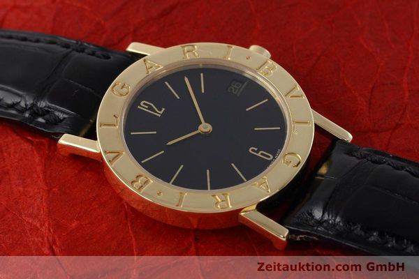 Used luxury watch Bvlgari Bvlgari 18 ct gold quartz Kal. 732 MBBE Ref. BB30GL  | 152618 13