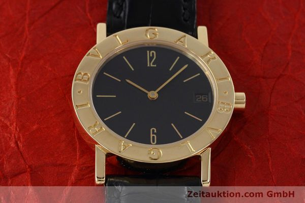 Used luxury watch Bvlgari Bvlgari 18 ct gold quartz Kal. 732 MBBE Ref. BB30GL  | 152618 14