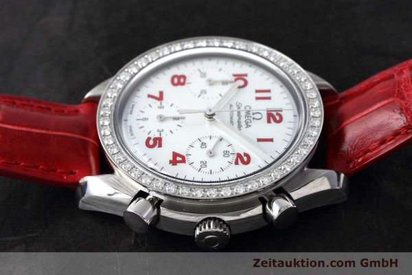Used luxury watch Omega Speedmaster chronograph steel automatic Kal. 3220 Ref. 275.0032  | 152619 05