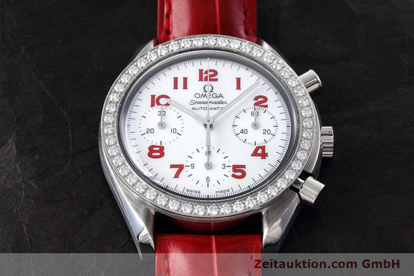 Used luxury watch Omega Speedmaster chronograph steel automatic Kal. 3220 Ref. 275.0032  | 152619 16