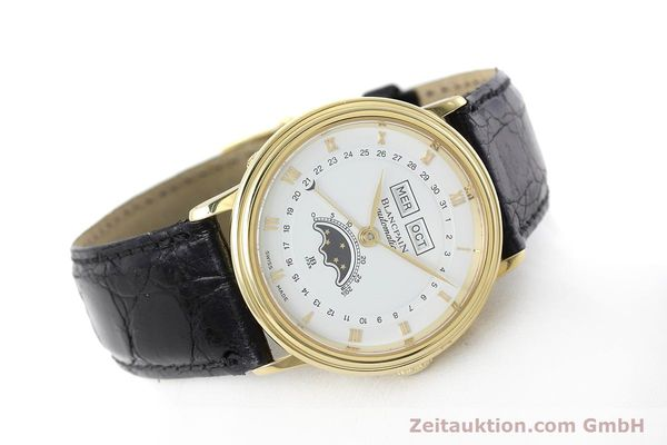 Used luxury watch Blancpain Villeret 18 ct gold automatic Kal. 6553  | 152620 03