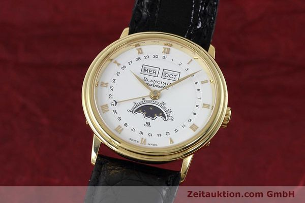 Used luxury watch Blancpain Villeret 18 ct gold automatic Kal. 6553  | 152620 04